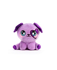 3Deez, Slow-Rise Foam Stuffed Animals, Purple Dog-Brennan
