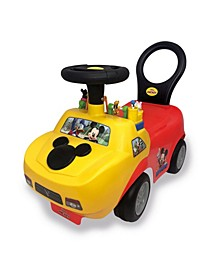 Disney Mickey Mouse Playtime Light Sound Activity Ride-On