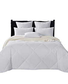 Lightweight 50/50 White Goose Feather & Down Comforter, Full/Queen Size