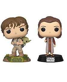 Pop Star Wars Collectors Set - Esb Leia Bespin, Training Luke with Yoda