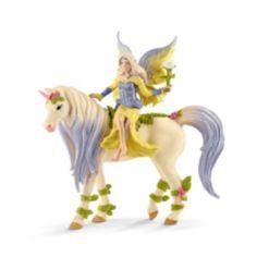 Schleich, Bayala, Fairy Sera with Blossom Unicorn Toy Figurine Playset