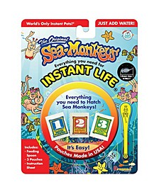 The Original Sea-Monkeys Instant Life Kit - Everything you Need to Hatch Sea Monkeys