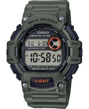 Men's Digital Green Resin Strap Watch 48.4mm