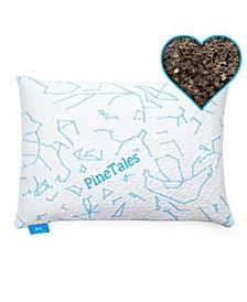 Buckwheat Hulls Pillow with Cool Touch Designer Bamboo Pillowcase
