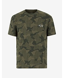 Men's Geometric Camo T-shirt
