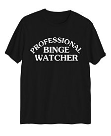 Love Tribe Women's Professional Binge Watcher T-shirt