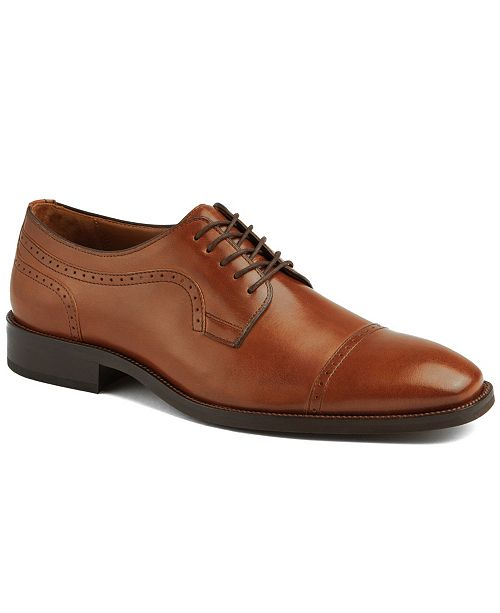 Johnston & Murphy Men's Everett Cap Toe Dress Shoes