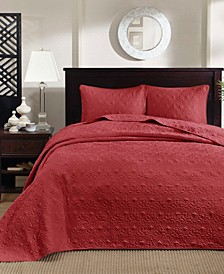 Quebec 3-Piece Full Quilted Bedspread Set