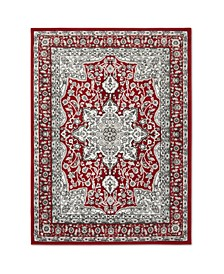 """Haven Lane Hal06 Red 7'10"""" x 10'2"""" Area Rug"""