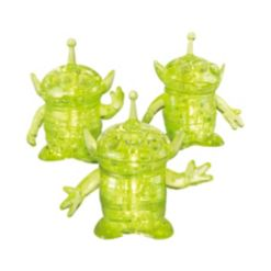 Bepuzzled 3D Crystal Puzzle - Disney Toy Story 4 - Aliens - 51 Pieces