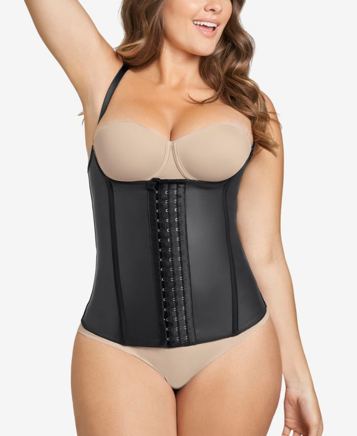 Leonisa Latex Waist Trainer Vest - Extra-Firm Compression & Reviews - Shapewear - Women - Macy's