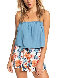 High Hopes Removable-Strap Crop Top