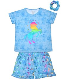 Big Girls Unicorn Pajama Set