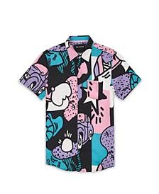 Men's Party Block Shirt