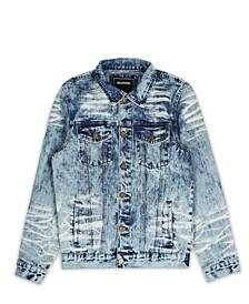 Men's Vintage Inspired Beach Denim Jacket