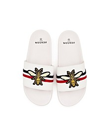 Men's Bee Slides