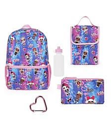 Lol Backpack 5 Piece Set