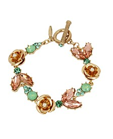 New York Flower Stone Bracelet