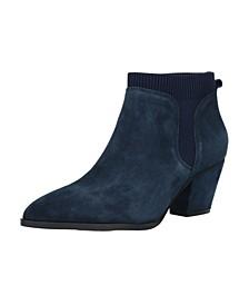 Lottie Block Heel Chelsea Boots