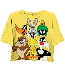 Juniors' Looney Tunes Cropped T-Shirt