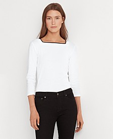 Cotton-Blend Top