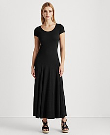 Jersey Scoop Neck Maxidress