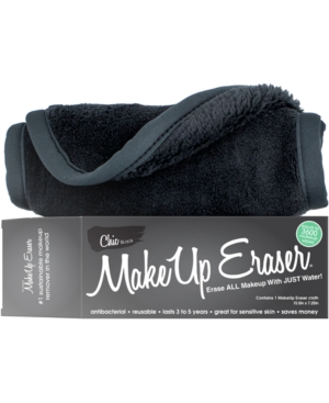Remove smear-proof, waterproof makeup and mascara with The Original MakeUp Eraser. Free of chemicals, this makeup remover gets rid of all types of makeups, including stage, sports and theatrical makeup. Each cloth will last a thousand washes. You only need to add water and then remove makeup. Approximately 15.5in x 7.25in.