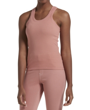 Kendall + Kylie Women's Rib Tank In Old Rose