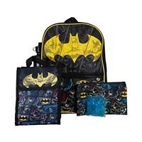 5-Piece Bioworld Batman Backpack Set