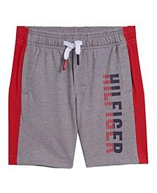 Baby Boys Two-Tone Logo Shorts