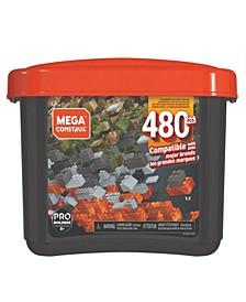 CLOSEOUT! MCX - Megablocks 480 Piece Tub