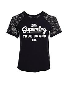 Summer Lace Raglan T-shirt