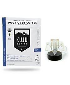 Ethiopia Premium Single-Serve Pour Over Coffee, 10 Pack