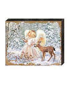 by Dona Gelsinger Sweet Christmas Blessings Wooden Block