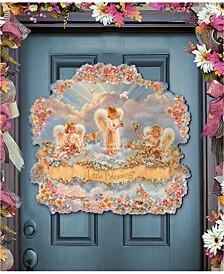 by Dona Gelsinger Little Blessings Wooden Door Decor