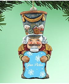 Nutcracker Picture Frame Ornament Set of 2