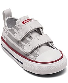 Toddler Boy's Chuck Taylor All Star Stars and Stripes Low Top Stay-Put Closure Casual Sneakers from Finish Line
