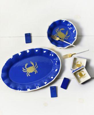 Crab Ruffle Salad Plate