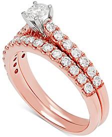 Diamond Bridal Set (1 ct. t.w.) in 14k Rose Gold
