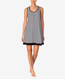 Women's Printed Sleeveless Nightgown
