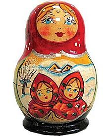 Fairy Tale 5 Piece Russian Matryoshka Wooden Nested Dolls Set