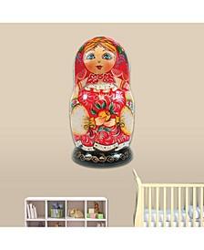 Nesting Doll Matreshkas Wooden Décor
