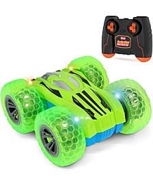 Kidzlane RC Car - Mini Double-Sided Stunt Car