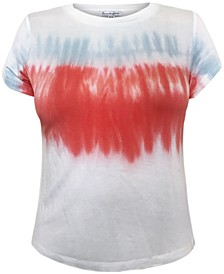 Juniors' Tie-Dyed T-Shirt