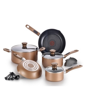 T-fal Excite Nonstick 14-Pc. Cookware set