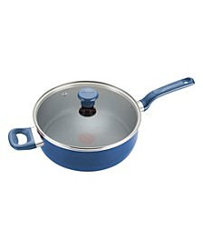 Excite Nonstick 5 Qt. Jumbo Cooker with Lid, Blue