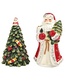 Christmas Tree Salt and Pepper