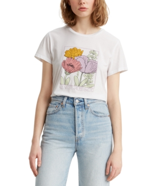 LEVI'S FLORAL GRAPHIC PERFECT TEE