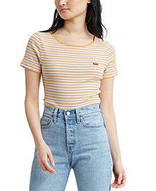 Levi's® Honey Ribbed Logo T-Shirt