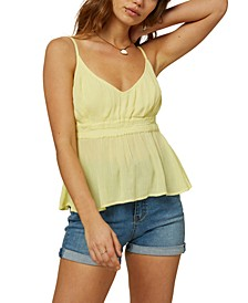 Juniors' Kelby Empire-Waist Top